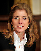 Washington, D.C. - March 23, 2010 -- Caroline Kennedy prior to the ceremony where United States President Barack Obama signed the version of the health care bill that was passed by the U.S. House of Representatives in the East Room of the White House in Washington, D.C. on Tuesday, March 23, 2010..Credit: Ron Sachs / CNP.(RESTRICTION: NO New York or New Jersey Newspapers or newspapers within a 75 mile radius of New York City).(RESTRICTION: NO New York or New Jersey Newspapers or newspapers within a 75 mile radius of New York City)