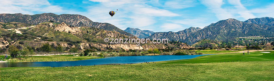 Golfing, Angeles course at Angeles National Golf Club in Sunland, California CGI Backgrounds, ,Beautiful Background