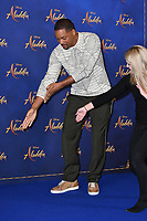 Will Smith<br /> at 'Aladdin' film photocall with the cast at the Rosewood Hotel, London, England on May 10, 2019<br /> CAP/JOR<br /> &copy;JOR/Capital Pictures