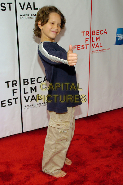 "BOBBY COLEMAN.6th Annual Tribeca Film Festival - ""Take"" premiere held at Clearview Chelsea West, New York City, New York, USA,.27 April 2007..full length thumb up.CAP/ADM/BL.©Bill Lyons/AdMedia/Capital Pictures. *** Local Caption ***"
