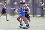 Santa Barbara, CA 02/18/12 - Emma Goodnow (Georgia #10) in action against UCLA at the 2012 Santa Barbara Shootout.  Georgia defeated UCLA 14-6.