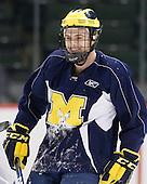 110408 - F4 University of Michigan Wolverines practice