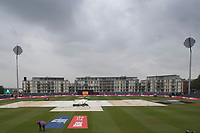 Heavy rain at Bristol, which seems set for the day has delayed the start during Pakistan vs Sri Lanka, ICC World Cup Cricket at the Bristol County Ground on 7th June 2019