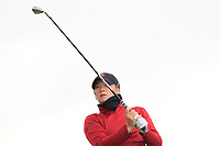 Amelia Garvey (NZL) on the 8th tee during the Matchplay Final of the Women's Amateur Championship at Royal County Down Golf Club in Newcastle Co. Down on Saturday 15th June 2019.<br /> Picture:  Thos Caffrey / www.golffile.ie