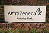 Astra Zeneca site entrance; Nether Alderley; Cheshire,