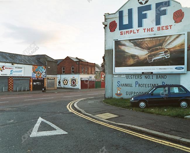 Shankill Road, Belfast, Northern Ireland, October 2004