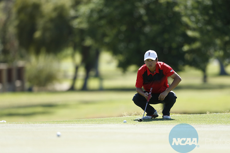 24 APR 2016: The 2016 Mountain West Men's Golf Championship is held at the Omni Tucson National Resort in Tucson, AZ. Trevor Brown Jr./NCAA Photos
