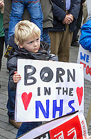 Junior Doctors Protest, Birmingham, 15th Nov 2015