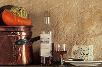 Europe/France/Aquitaine/33/Gironde/Sauternais/Sauternes: Roquefort et vieux Sauternes au château de Nairac