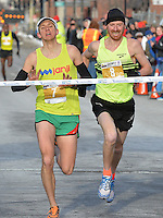 Anthem 5K Fitness Classic 2015 signature and winners images.<br />