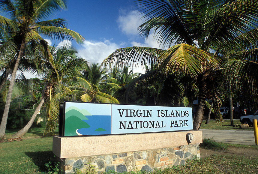Virgin Island National Park Location