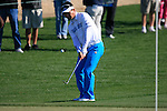 Y.E. Yang in action on the 2nd hole during Day 2 of the Accenture Match Play Championship from The Ritz-Carlton Golf Club, Dove Mountain. (Photo Eoin Clarke/Golffile 2011)