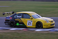 Round 7 of the 2002 British Touring Car Championship. #21 Gareth Howell (GBR). Team Atomic Kitten. MG ZS.