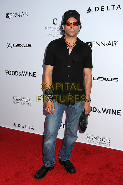 Richard Grieco.Los Angeles Food & Wine Festival held at L.A. Live, Los Angeles, California, USA..August 9th, 2012.full length white shirt jeans denim hat sunglasses shades .CAP/ADM/BP.©Byron Purvis/AdMedia/Capital Pictures.