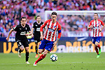 Fernando Torres of Atletico de Madrid (R) in action during the La Liga match between Atletico Madrid and Eibar at Wanda Metropolitano Stadium on May 20, 2018 in Madrid, Spain. Photo by Diego Souto / Power Sport Images