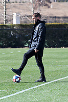 Atlanta, Georgia - Wednesday, January 16, 2019. Atlanta United manager Frank de Boer runs preseason training session at the team's Children's Healthcare Training Center. Josef Martinez comments on his five-year contract extension.