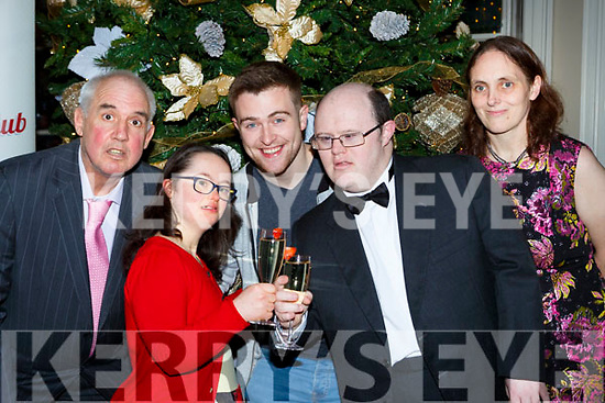 Vincent Lacke, Emma Doolan, Brendan Fuller, Timmy Dan O'Sullivan and Jane Curran launching the Kerry Stars Black Tie Ball which will be held in the Malton Hotel on Saturday 16th December