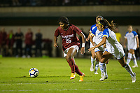 STANFORD, CA - September 27, 2018: Madison Haley at Stanford Stadium. The Stanford Cardinal defeated the UCLA Bruins, 3-2.
