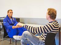 September 10, 2014,Netherlands, Amsterdam, Ziggo Dome, Davis Cup Netherlands-Croatia, Press conference, Thiemo de Bakker.<br /> Photo: Tennisimages/Henk Koster