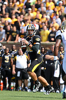 MU quarterback Chase Daniel passed for 328 yards and two touchdowns against the Western Michigan Broncos at Memorial Stadium in Columbia, Missouri on September 15, 2007. The Tigers won 52-24.