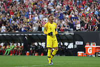 CLEVELAND, OHIO - JUNE 22: Zack Steffen #1 during a 2019 CONCACAF Gold Cup group D match between the United States and Trinidad & Tobago at FirstEnergy Stadium on June 22, 2019 in Cleveland, Ohio.