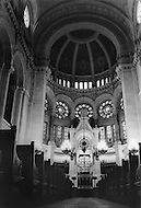 Paris, August 1977. Synagogue De La Rue de La Victorie.