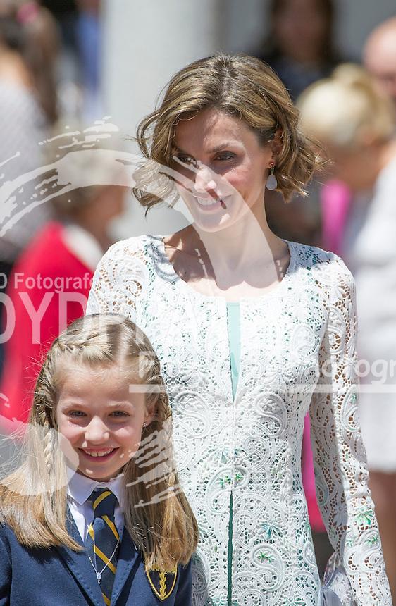 Queen Letizia; Princess Leonor