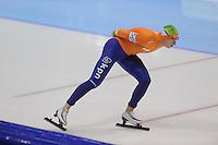 SCHAATSEN: HEERENVEEN: IJsstadion Thialf, 16-11-2012, Essent ISU World Cup, Season 2012-2013, Men 5000 meter Division A, Jan Blokhuijsen (NED), ©foto Martin de Jong