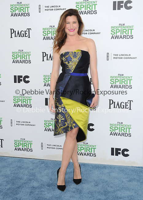 Kathryn Hahn<br /> <br /> <br />  attends The 2014 Film Independent Spirit Awards held at Santa Monica Beach in Santa Monica, California on March 01,2014                                                                               © 2014 Hollywood Press Agency