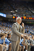Coach Roy Williams, UNC vs Mississippi Valley State at the Dean Smith Center, Chapel Hill, NC, Sunday, November 20, 2011. .