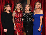 Ivana Gumbarevic, Susan Brennan, Leona Collins and Jane Ledwith at the ABACAS Ball in the Westcourt Hotel. Photo:Colin Bell/pressphotos.ie