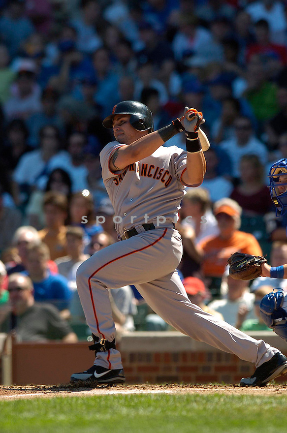 ELLEZER ALFONZO, of the San Francisco Giants, in action against the Chicago Cubs on September 2, 2006 in Chicago, IL...Giants win 4-2..David Durochik / SportPics