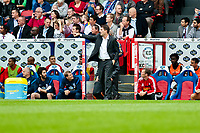Sun 22 September 2013<br /> <br /> Pictured: Michael Laudrup, Manager of Swansea City<br /> <br /> Re: Barclays Premier League Crystal Palace FC  v Swansea City FC  at Selhurst Park, London