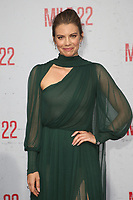 LOS ANGELES, CA - AUGUST 9: Lauren Cohan at the Mile 22 premiere at The Regency Village Theatre in Los Angeles, California on August 9, 2018. Credit: Faye Sadou/MediaPunch