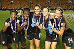 U-20 Women's USA Team Group (USA), .SEPTEMBER 8, 2012 - Football / Soccer : .FIFA U-20 Women's World Cup Japan 2012, Medal Ceremony .at National Stadium, Tokyo, Japan. .(Photo by Daiju Kitamura/AFLO SPORT) [1045]