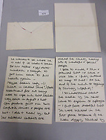 BNPS.co.uk (01202 558833)<br /> Pic: LawrencesAuctioneers/BNPS<br /> <br /> PICTURED: Diana's letter to Ivy Woodward<br /> <br /> A heartwarming letter by Princess Diana revealing a young William and Harry's excitement for Christmas has come to light.<br /> <br /> The then Princess of Wales described how the two boys were 'thrilled that Christmas was on the horizon'.<br /> <br /> She went on to tell how the young princes had 'searched high and low' around Kensington Palace for their presents.<br /> <br /> In the same letter Diana also displayed the compassion and empathy that she was famous for towards recipient Ivy Woodward.