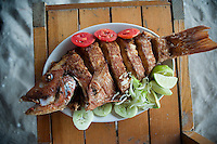 Restaurante los Pampanos. Celestun, Yucatan, Mexico