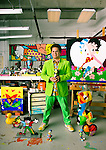 Artist Romero Britto in his Miami studio