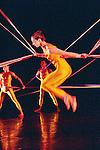 TENSILE INVOLVEMENT (cr&eacute;ation 1955)<br /> <br /> Chor&eacute;graphie, son, lumi&egrave;res, costumes : Alwin Nikolais<br /> Danseurs de la compagnie : Snezana Adjanski, Joseph (jo) Blake, Chia-Chi Chiang, Juan Carlos Claudio, Ai Fujii, Trey Gillen, Caine Keenan, Melissa McDonald, Brandin Scott Steffenssen, Liberty Valentine<br /> Compagnie : Ririe - Woodbury Dance Company<br /> Lieu : Th&eacute;&acirc;tre de la Ville<br /> Ville : Paris<br /> Date : 23/03/2004