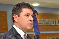 Informe de la Gestión  Rectoral 2007-2012  .Justo Pedro Castellanos, Rector.Foto:Saturnino Vasquez/acento.com.do.Fecha:31/01/2012.