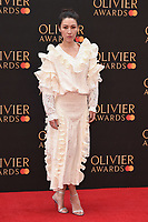 Eleanor Matsora<br /> arriving for the Olivier Awards 2019 at the Royal Albert Hall, London<br /> <br /> ©Ash Knotek  D3492  07/04/2019