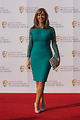 London, UK. 8 May 2016. Kate Garraway. Red carpet  celebrity arrivals for the House Of Fraser British Academy Television Awards at the Royal Festival Hall.
