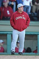 Ray Tanner (Head Coach) South Carolina Gamecocks (Photo by Tony Farlow/Four Seam Images)