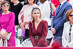 First Lady of Andalusia Manuela Villena during the Military parade because of the Spanish National Holiday. October 12, 2019.. (ALTERPHOTOS/ Francis Gonzalez)