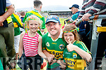 Kerry Fans at Fitzgerald Stadium Edel, Frank and Sinead Shine