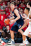 Illinois Fighting Illini center Meyers Leonard (12) handles the ball during a Big Ten Conference NCAA college basketball game against the Wisconsin Badgers on Sunday, March 4, 2012 in Madison, Wisconsin. The Badgers won 70-56. (Photo by David Stluka)