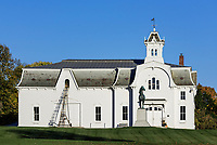 Morgan Horse Farm, Middlebury, Vermont, USA.