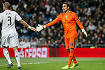 Real Madrid´s Keylor Navas during La Liga match at Santiago Bernabeu stadium in Madrid, Spain. March 15, 2015. (ALTERPHOTOS/Victor Blanco)