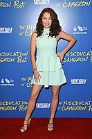 "Jess Impiazzi<br /> arriving for the premiere of ""The Miseducation of Cameron Post"" screening at Picturehouse Central, London<br /> <br /> ©Ash Knotek  D3424  22/08/2018"