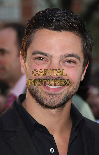 "DOMINIC COOPER .World Film Premiere of ""State Of Play"" held at the Empire Cinema, Leicester Square, London, England, UK, .April 21st 2009..portrait headshot beard facial hair stubble black shirt smiling .CAP/ROS.©Steve Ross/Capital Pictures"